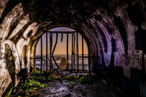 Ghost Pier  - Abandoned pier and mining tunnel- Davenport California