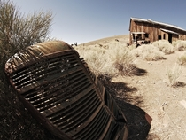 Ghost Town by Route  Nevada