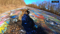 Ghost town Centralia PA The Graffiti Highway