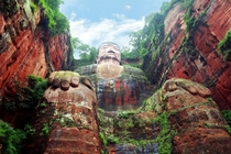 Giant Buddha in Leshan China