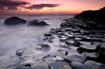 Giants Causeway Antrim Northern Ireland UK