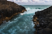 Giants Causeway Fingal Head Australia