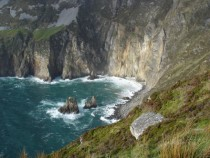 Giants desk and chair Sliabh Liag Donegal Ireland