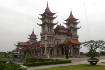 Giao Phong Catholic cathedral in Vietnam a unique fusion of Eastern and Western architecture