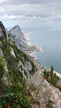 Gibraltar along the Mediterranean Steps