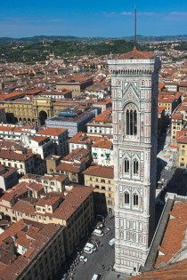Giottos Campanile in Florence Italy