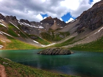 Glacial flour is responsible for the epic blues found in the high alpine lakes of Colorado San Juan Mountains CO