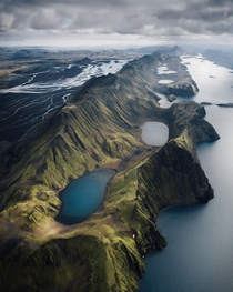 Glacial rivers and lakes Iceland