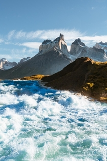 Glacial rivers of Torres del Paine