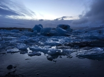 Glacier Lagoon Iceland As beautiful as it is freezing