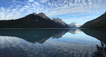 Glacier Lake in Banff National Park  x