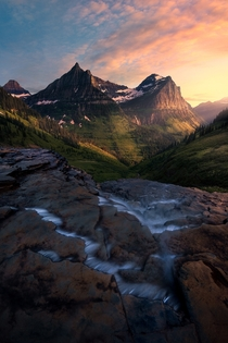 Glacier National Park is basically cheating as a photographer Every view is gorgeous OC  ross_schram