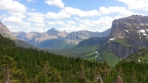 Glacier National Park just before Logan Pass One of my favorite stops on the way to Alberta from Montana