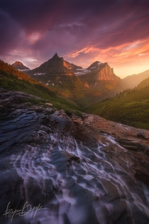 Glacier National Park Montana  photo by Ryan Dyar