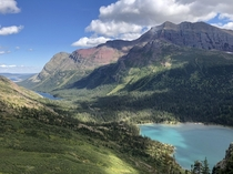 Glacier National Park Montana USA Like a postcard