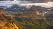 Glacier National ParkMontana from Mount Gould
