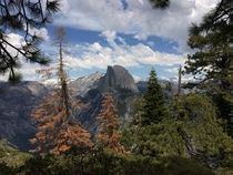 Glacier Point in Yosemite Almost didnt go and would of missed this