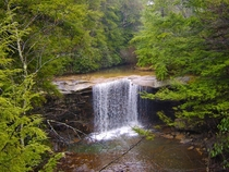 Glade Creek waterfall at Propps Ridge New Haven West Virginia Fayette county