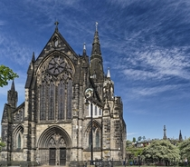 Glasgow Cathedral with Necropolis in the background