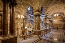 Glasgow City Chambers Staircase  by michael-d-beckwith