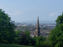 Glasgow Scotland from Queens Park