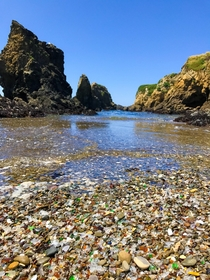 Glass Beach Fort Bragg CA OC