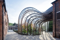 Glasshouse at the Bombay Sapphire Distillery Hampshire UK