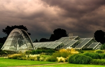 Glasshouses at the Royal Botanic Gardens London
