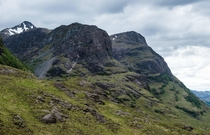 Glen Coe Scotland earlier today