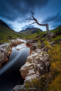 Glen Etive in the West Highlands of Scotland  by Fernando Vicente