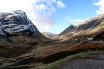 Glencoe Highlands Scotland On my way to Isle of Skye