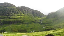 Glencoe Scotland after a thunder storm x