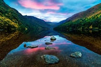 Glendalough Lake Co Wicklow Ireland