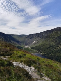 Glendalough National Park Wicklow Ireland   x