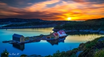 Glesvr is a small fisherman village on the west coast of Norway