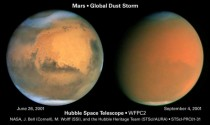 Global dust storm on Mars