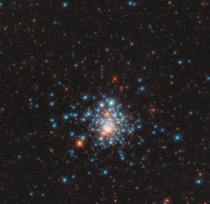 Globular Cluster NGC  This tight grouping of thousands of stars is located near the edge of the Large Magellanic Cloud  Image credit ESAHubble amp NASA J Kalirai