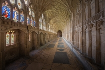 Gloucester Cathedral Cloisters England