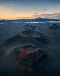 Glowing Craters Iceland