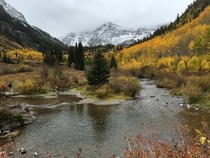Go to Colorado They Said It Will Be Beautiful They Said Maroon Bells Aspen CO
