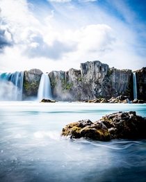 Goafoss Northeast Region of Iceland