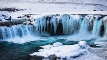 Goafoss the waterfall of the gods Iceland
