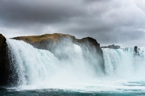 Goafoss waterfall in north Iceland  hedbergphotos