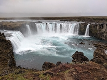 Goafoss waterfall northeastern Iceland