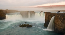 Goafoss Waterfalls Iceland  Photo by Andrey Vedernikov