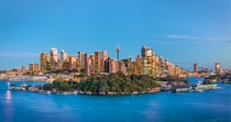 Goat Island and the Sydney CBD
