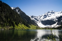 Goat Lake in North Cascades WA USA