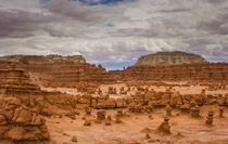 Goblin Valley Utah an alien landscape