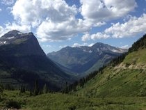 Going-to-the-Sun Road Logan Pass Glacier National Park iPhone