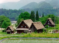 Gokayama Village city of Nanto in Toyama Prefecture Japan